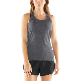 Icebreaker Amplify Top sin mangas Racerback Mujer, panther heather/cove heather
